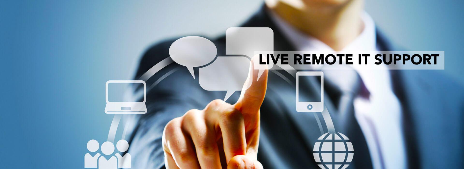 Help desk remote support service